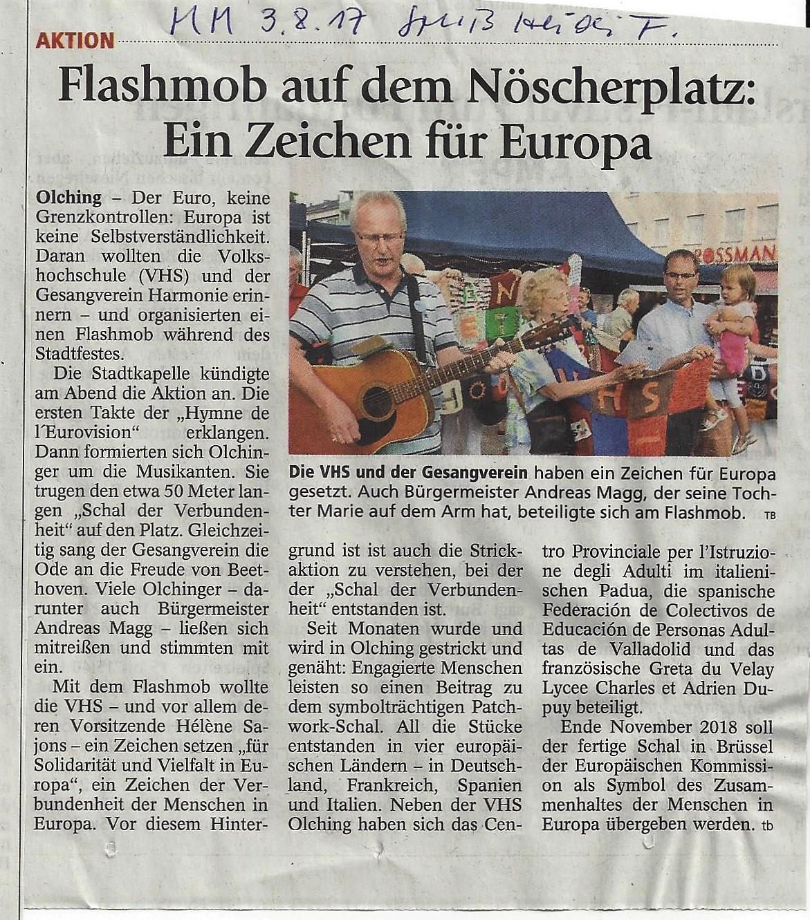Flashmob-Merkur- 03.08.17