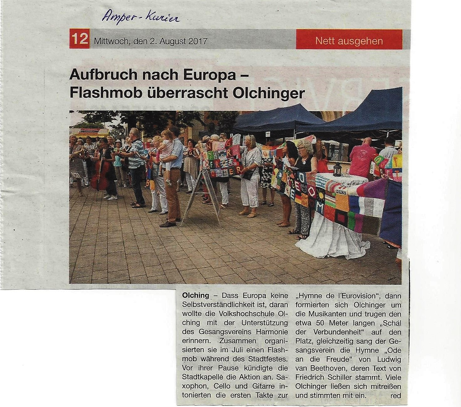 flash mob-Amper Kurier-02.08.17